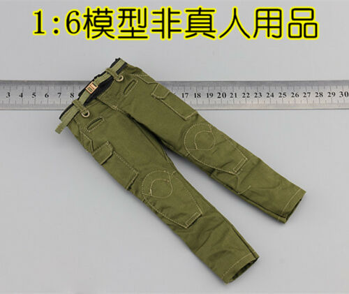"""EASY/&SIMPLE ES 26029 1//6 US Army PMC Persona Pants Belt F12/"""" Male Action"""