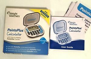 Weight-Watchers-PointsPlus-Calculator-Daily-amp-Weekly-Tracker-Bigger-Buttons-New