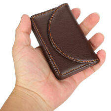 Business Name Card Case Pu Leather Holder Organizer Gift For Traveling Business