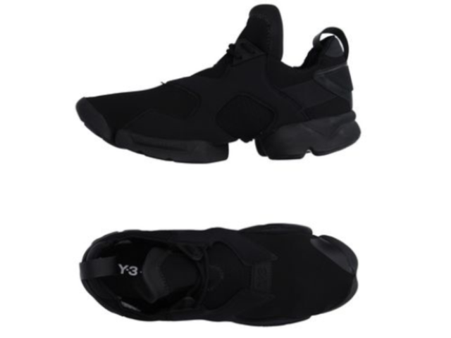 ddd2d6980a8e5 Frequently bought together. Y-3 by Yohji Yamamoto KOHNA Men s Black Flat  Sneakers ...
