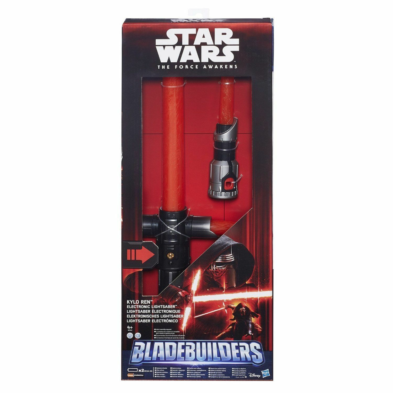 Star Wars VII KYLO REN Electronic Lightsaber Spada Laser  risveglio della forza