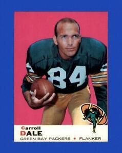 1969 Topps Set Break # 77 Carroll Dale EX-EXMINT *GMCARDS*
