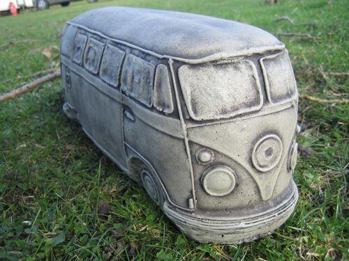 VW CAMPER SPLIT SCREEN Pietra Decorazione Giardino