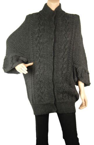 Conmigo Style Bs510 Coat London Grigio Cardigan Scuro 4w6dq4