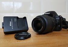 Nikon D D3100 14.2MP Fotocamera Reflex Digitale-Nero (Kit con VR 18-55mm Lens)