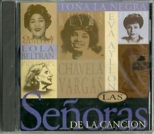 Las Senoras De La Cancion Guillot Beltran Vargas Vasquez Reyes Latin Music CD