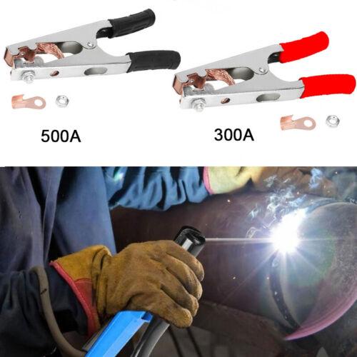 für Schweißkabel bis 70 mm² Masseklemme Massezange Erdungsklemme 300//500 A max