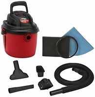 Shop-vac 2036000 2.5-gallon 2.5 Peak Hp Wet Dry Vacuum, Small, Red/black, New, F on sale