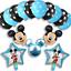 DISNEY-MICKEY-MINNIE-MOUSE-COMPLEANNO-PALLONCINI-BABY-SHOWER-SESSO-rivelare-Rosa-Blu miniatura 17