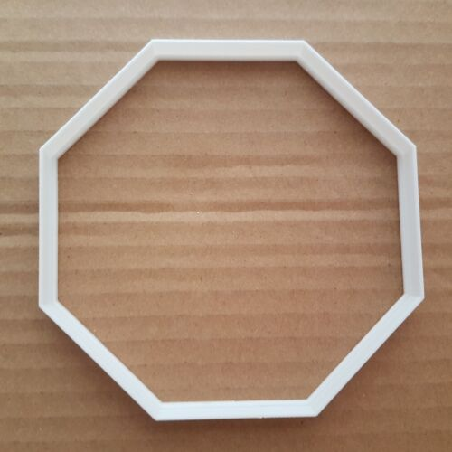 Octagon Frame Plaques Sign Forme Cookie Cutter Dough Biscuit Pastry Stencil