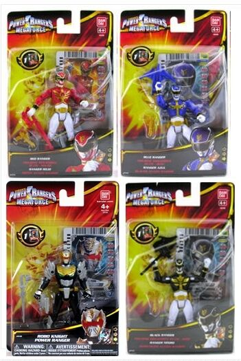 POWER RANGERS RANGERS RANGERS Megaforce 3.75  toy action figures Team Set of 4 Great Gift 499ef6