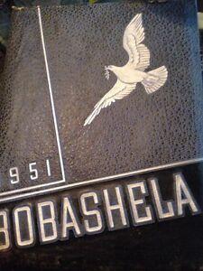 1951 Millsaps College Bobashela Yearbook, Jackson,Mississippi