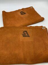 2 Steiner 12161 Leather Welding Waist Apron 18x24 Set2