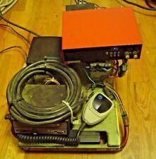 Vintage Motorola Syntor 9000xx Radio With Power Supply Plectron