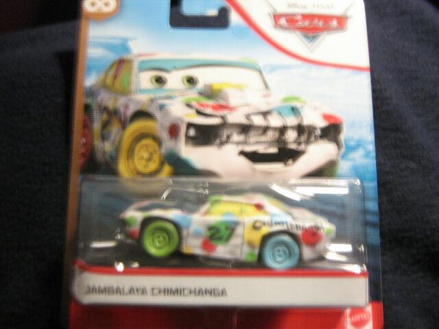Disney Pixar Cars JAMBALAYA CHIMICHANGA