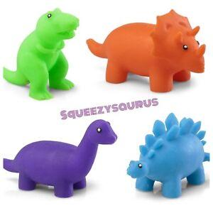 Intelligent Squeezysaurus Squidgy Dinosaure Jouet Sensoriel-fiddle Fidget Stress Autisme Tdah-afficher Le Titre D'origine Les Clients D'Abord