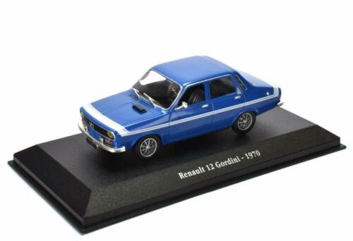 Renault 12 Gordini 1970-1:43 Atlas MODELLAUTO CAR MINIATUR G004
