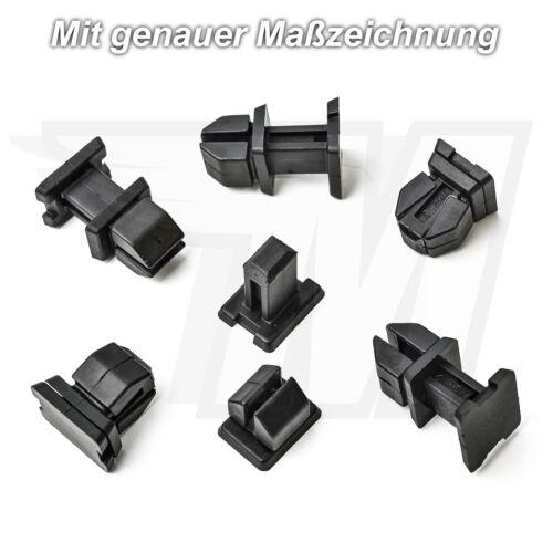 20x revestimiento interior clips de fijación para mercedes a b c CLK CLS a1249900792