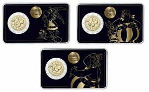 #rm# 3x Coincard 2 Euro Commemorative France 2019 - Asterix