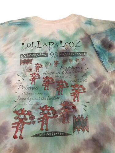 Vintage Lollapalooza Shirt 1993 Dinosaur Jr Alice