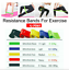 thumbnail 2 - Resistance Bands Power Heavy Strength Exercise Fitness Gym Crossfit Yoga AU