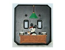 MICKEY MOUSE EARS POLKA DOTS SINGLE LIGHT SWITCH WALL PLATE COVER BABY NURSERY