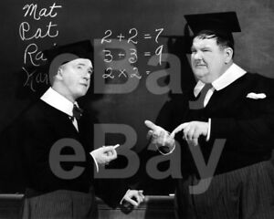 A-Chump-at-Oxford-1939-Laurel-amp-Hardy-Stan-Laurel-Oliver-Hardy-10x8-Photo