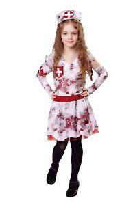 Zombie Infirmière, Petit, Halloween, Les Filles (ou Garçons!) Fancy Dress-afficher Le Titre D'origine