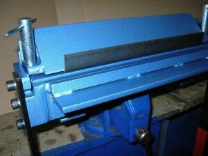 "Bending tool, sheet metal bender, folder, 500mm (20"")/2mm, vice or table, manual"