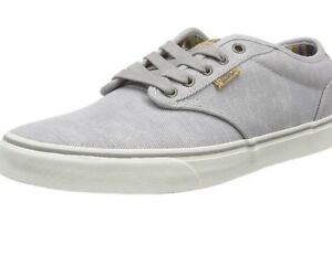 d6d2cd61ce5 Vans Atwood Deluxe Gray Washed Canvas Ultra Cush Shoes 8 Men  65 ...