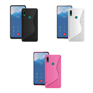 For-Huawei-P-Smart-Z-Silicone-Gel-Ultra-Thin-In-Various-Colours-Case-Cover