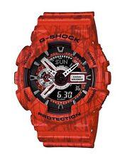 Casio G Shock *GA110SL-4A Slash Pattern Gshock Watch XL Red Men COD PayPal