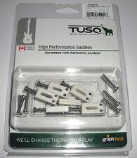 "GRAPHTECH PQ8000 TUSQ STRAT AND TELE STYLE SADDLES 2 1/16"" SPACING"