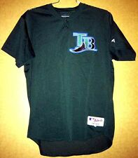 TAMPA BAY DEVIL RAYS MILT MAY GAME WORN JERSEY MLB JERSEY