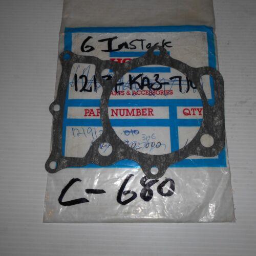 GENUINE HONDA PARTS BASE GASKET XL250 K1 K2 1974//1975 12191-329-010