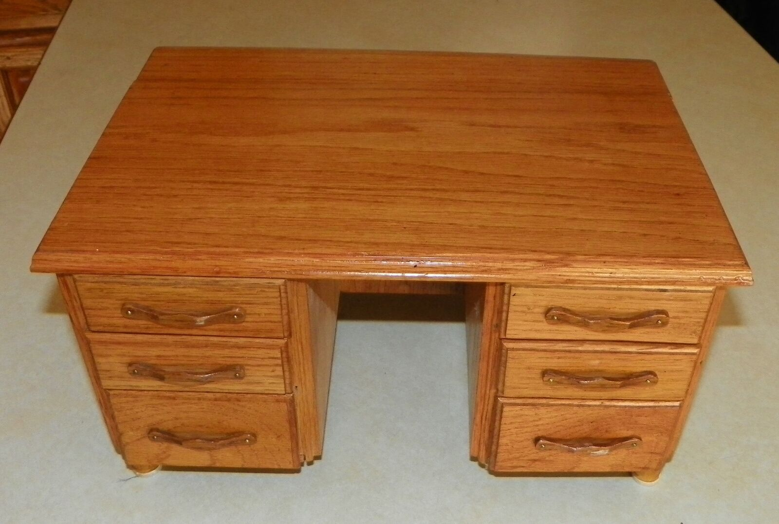Oak Desk Jewelry Box   Jewelry Armoire