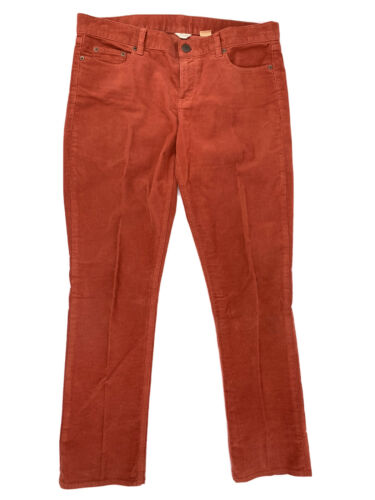 J. Crew Women's Corduroy pants Copper Brown City F