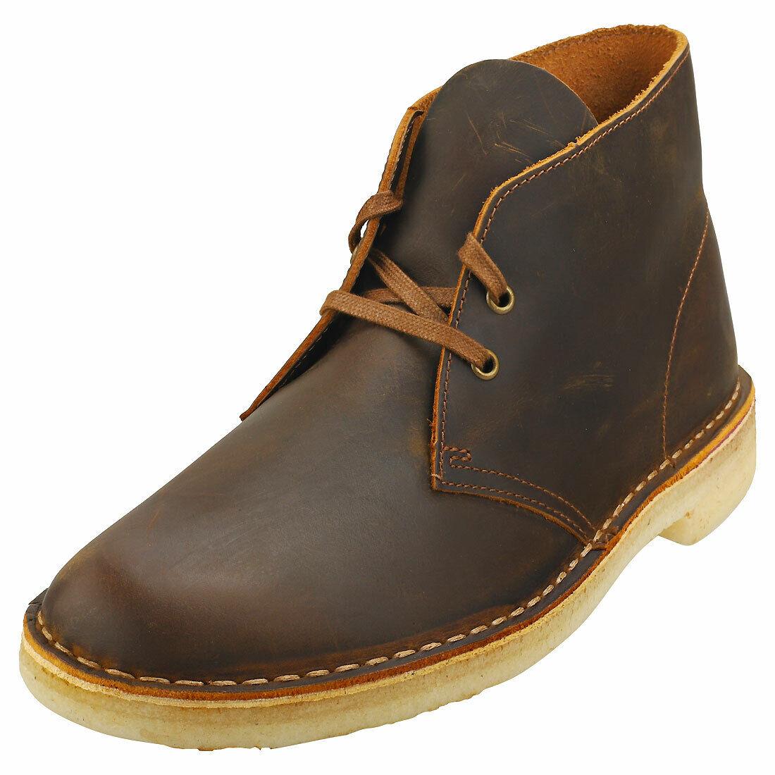 Clarks Originals Desert Boot Mens Beeswax Leather Desert Boots