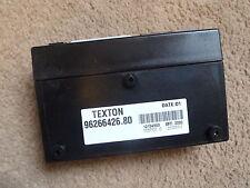 Genuine Peugeot 106 306 406 Partner Alarm Control Box ECU Part No. 668096