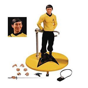 Mezco Toyz One: figurine d'action de science-fiction 76 Takek Hikaru Sulu George Takei de 12 Star Trek
