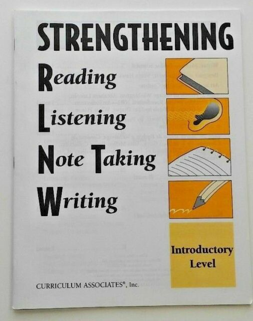 Strengthening Reading Comprehension, Listening, Note ...