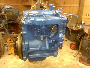 Diesel ford tractor motor engine 3 cylinder diesel for Ford motor company warranty