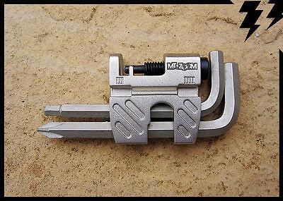 Mt Zoom 12 Funzioni Multi Tool Allen Keys Catena Breaker Ha Parlato Chiave Cacciavite-