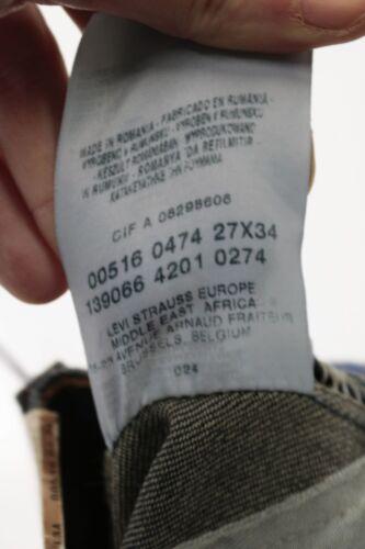 Nuovo W429 516 Standard Tg Levi's 41 cod Donna L34 Fit Flare W27 Jeans AZ0AqXwx