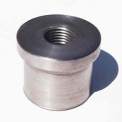 "Allstar Tubing Round End Cap Steel Weld On 1-1//2 in OD Set of 10 1 1//2/"""