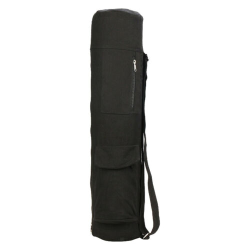 Exercise Yoga Mat Carry Bag with Multi-Functional Storage Pockets Full Zip