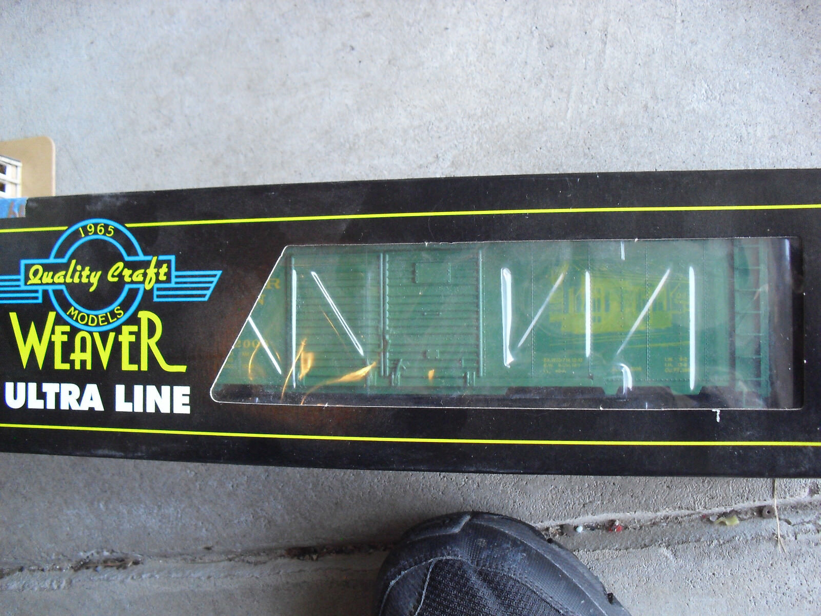 Rare Weaver O Scale Numberot PA Excelsior Station Box Car NIB