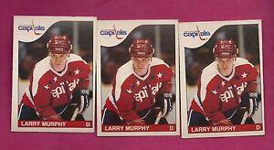 3-X-1985-86-OPC-236-CAPITALS-LARRY-MURPHY-EX-MT-CARD-INV-A1368