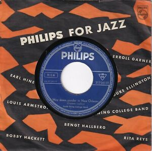 lt-6839-63-gt-7-034-Single-Dutch-Swing-College-Band-Way-Down-Yonder-In-New-Orleans
