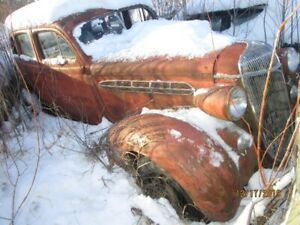 1936 CHRYSLER  & 1929 DURANT & 1947 DODGE TRUCK  FOR SALE